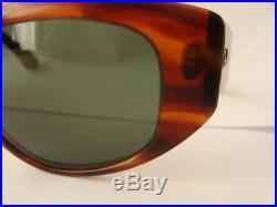 1980 Ray Ban Vintage Bausch & Lomb Mock Tortoise Dekko Sunglasses