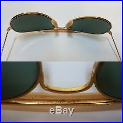 2 x Bausch and Lomb Ray Ray Ban USA Outdoorsman 5814 1/3010 k LIC RB3 + G15