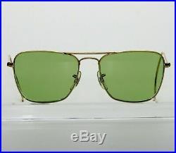 52MM Bausch & Lomb Ray Ban Arista RB3 Tru-Green Verre Caravan Aviateur Lunettes