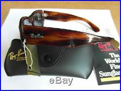 54mm Vintage B&L Ray Ban W0586 Épais Mock Tortue G15 UV Dekko Lunettes de Soleil