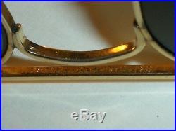 597ms 52mm Vintage B&L Ray-Ban Petit G15 Enveloppante Caravan