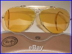 597ms Vintage Bausch & Lomb Ray Ban Ambermatic Chasse Lunettes de Soleil