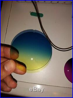 60 Verres Neutres pour Lunettes de Soleil Vintage Sunglasses Cartier Rayban