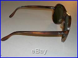600ms 62mm L Vintage B&L Ray-Ban L1615 G15 Mock Tort Vagabond Lunettes de Soleil