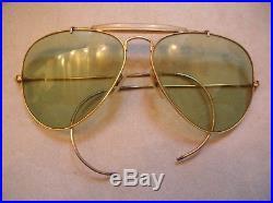 16de00cf750676 Ancienne paire de lunettes Ray Ban Aviateur USA   Lunettes de soleil ...