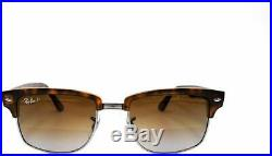 Authentique Ray-ban Clubmaster 4190 878/M2 Soleil Tortue/Marron Neuf 52mm