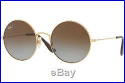 Authentique Ray-ban Ja-Jo 3592 001/T5 Lunettes de Soleil or / Grad Marron
