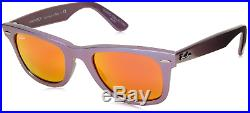 Authentique Ray-ban Original Wayfarer Cosmo 2140 611169 Soleil Neuf 50mm