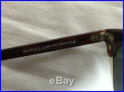 B&L Ray-Ban USA Clubmaster Square vintage originale W1482