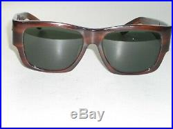 Bausch & Lomb Ray-Ban W0947 Épais Mock Tort G15 Verre Nomad Wayfarers