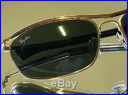 Bausch & Lomb Ray-ban L0255 24K Gep G15 Classique Olympien I Dlx Drapé Soleil