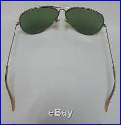 Bausch and Lomb Ray Ban USA Aviator 10 K Gold Filled 1950'S 1960'S 6214