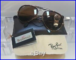 Bausch and Lomb Ray Ban USA Outdoorsman Aviator W0743 B15 6214