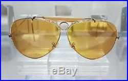 Bausch and Lomb Ray Ban USA Shooter Ambermatic All Weather Sunglasses 6214 1970