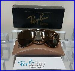 Bausch and Lomb Ray Ban USA Traditionals G Metal Arista B15 Z0651 6214