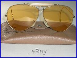 Circa 1970's Vintage Bausch & Lomb Ray-Ban Ambermatic Tir Soleil