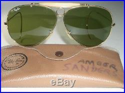 Circa 597ms Bausch & & Lomb Ray-Ban Gp Rb3 Tru-Green Chasse