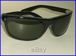 Circa Années 1970 Bausch & & Lomb Ray-Ban L2870 Noir Cristal Ébène Balorama