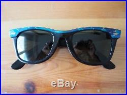 Lot 4 paires de lunettes de soleil Ray Ban Wayfarer couleur Bausch & Lomb + 2 ét