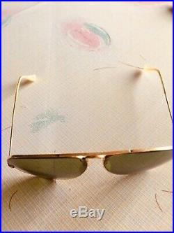 Lunette ray ban aviator verre vert d occassion