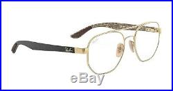 Lunettes Homme Ray Ban 8418 or/black