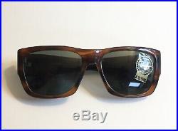 Lunettes Ray Ban B&L USA Wayfarer Nomad Ecaille NOS Neuve Bausch Lomb Vintage