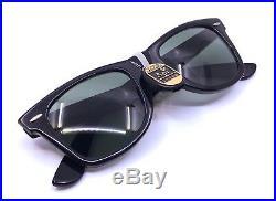 Lunettes Ray Ban B & L Wayfarer Juventus Édition Limitée Vintage Sunglasses Neuf