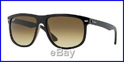 Lunettes de Soleil Ray-Ban RB 4147 BLACK BROWN/BROWN SHADED 60/15/145 unisexe