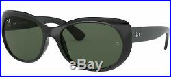 Lunettes de Soleil Ray-Ban RB 4325 BLACK/G- CLASSIC GREEN 59/18/135 femme