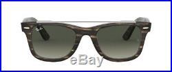Lunettes de Soleil Ray-Ban Rb4540 Wayfarer 641471 Marron Rayée