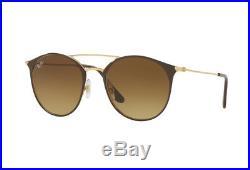 Lunettes de Soleil Ray-ban RB3546 900985 Gold Top Marron