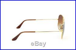 Lunettes de Soleil ray ban 3025 001/51 58-14 Aviator Sunglasses
