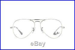 Lunettes de Vista Ray-ban RX6489 Aviateur 2501 Argent Cal. 55