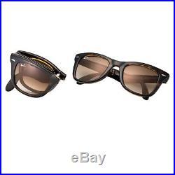 Audacieuse Lunettes de soleil Originales Ray-Ban Wayfarer Pliante RB4105 710 FS-79