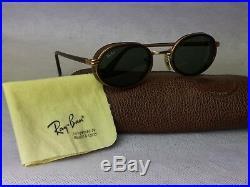 Lunettes de soleil RAY BAN B&L W2814 vintage Bausch & Lomb glacier marron or