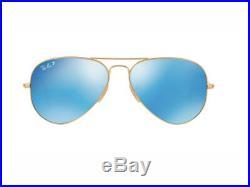 Lunettes de soleil Ray Ban AVIATOR verre polarisé RB3025 AVIATEUR LARGE METAL