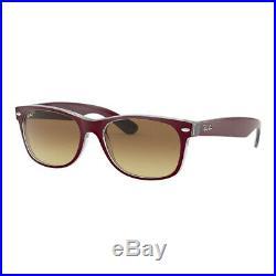 Lunettes de soleil Sunglasses Ray Ban 2132 6054/85 Matt Bordo' 55 100% Authentic