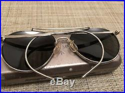 Lunettes de soleil aviateur pilote Royal Air Force RAF Style Ray Ban