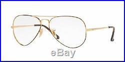 Lunettes de vue Ray Ban 6489 col 2945 écaille doré