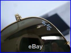 Paire de lunette ray-ban aviator vintage B/L USA plaqué or