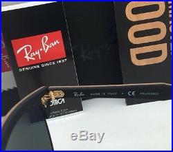 Polarisé Ray-Ban Lunettes de Soleil Clubmaster Bois 3016-M 1181/58 Noix & or +