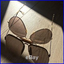 RAY-BAN Aviator B&L Vintage OUTDOORSMAN 62 14mm