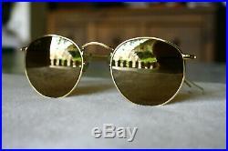 RAY BAN BL DIAMOND HARD SURVIVORS SERIE Round metal W1911-NOS