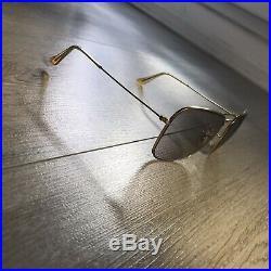 RAY-BAN CARAVAN B&L Vintage 60s 58 16mm Gray Changeable