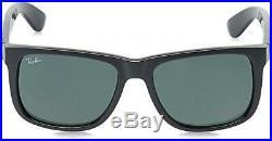 RAY BAN Homme RB4165 Lunettes de soleil 51 mm Noir (Black/Green)