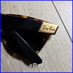 RAY-BAN WAYFARER II Bausch & Lomb made in USA vintage