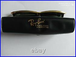 Rare Collection paire de Lunettes de Soleil Ray-Ban verres Bausch & Lomb Vintage