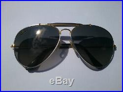Rarissime Ray Ban B&L Precious Metals Outdoorsman Vintage