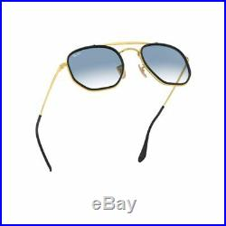 Ray-Ban 3648M The Marshal II Doré Bleu Clair Dégradé RB3648M 91673F 52