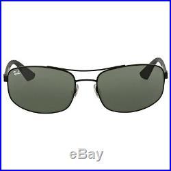 Ray-Ban Actif Hommes Lunettes de Soleil Rb3527 006/71 61 Noir Gris/Vert
